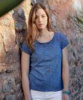 James & Nicholson Ladies' Vintage T-Shirt