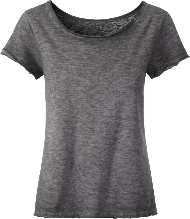 4dae48edf0 James & Nicholson szürke rövid ujjú női póló