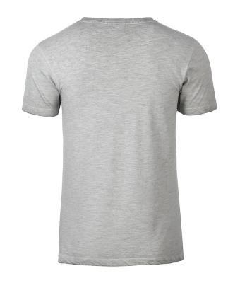 0d551cd019 James & Nicholson szürke rövid ujjú póló