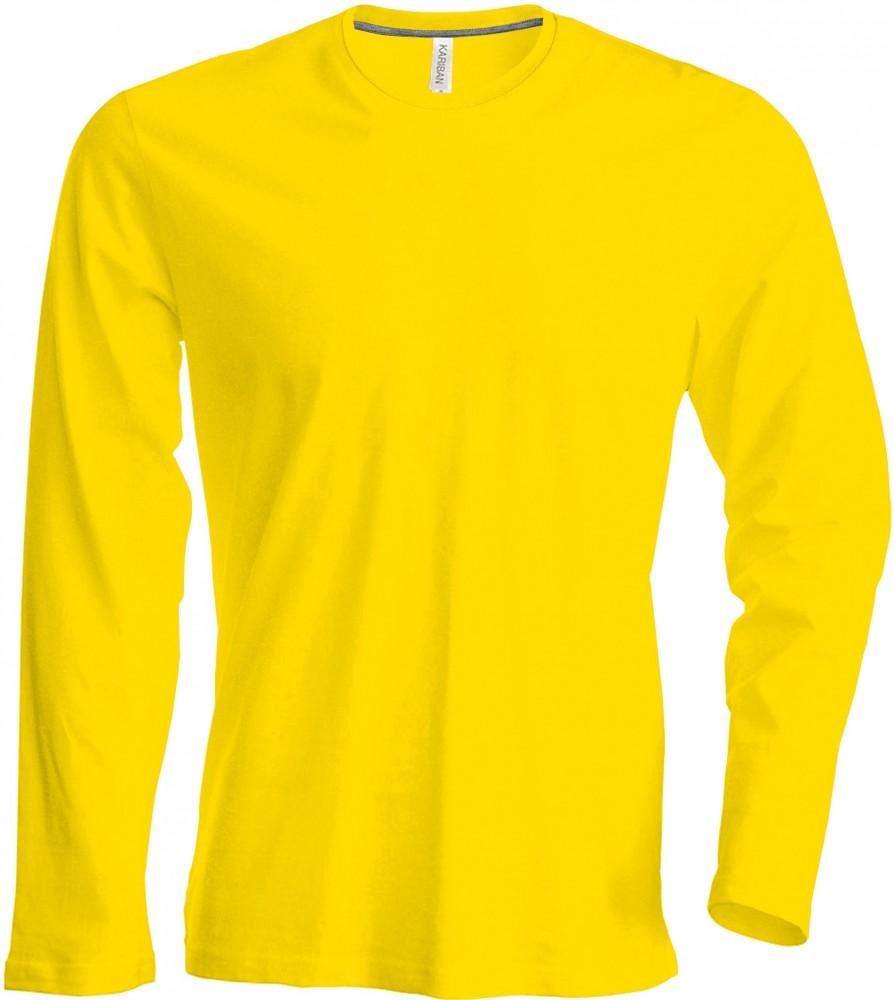 Kariban hosszú ujjú póló 180 sárga e439b0b975