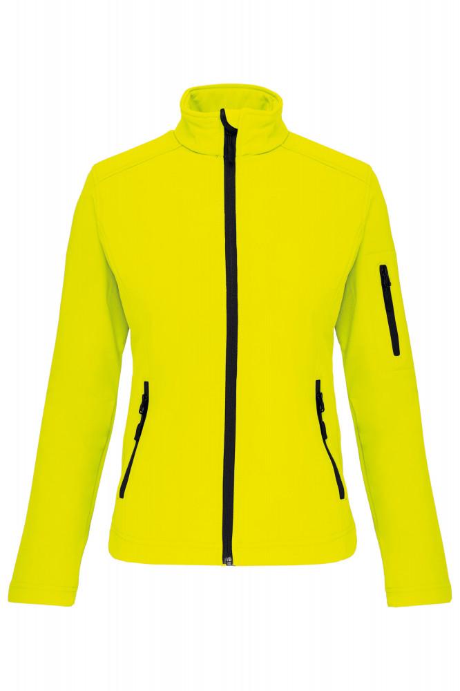 c5b464e410 Kariban sárga légáteresztő és vízálló női dzseki