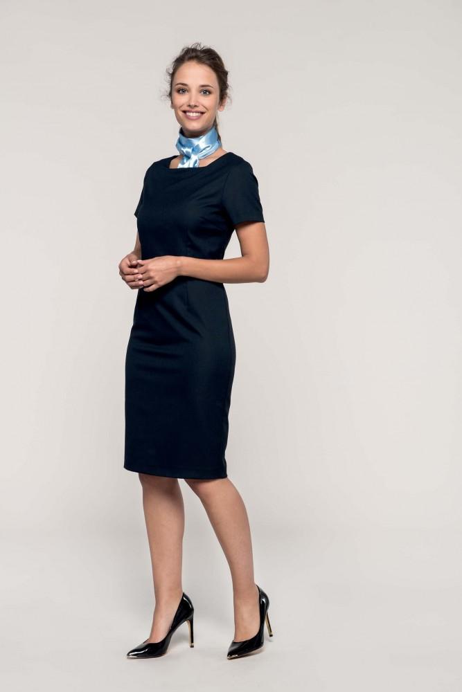 c6dccabe4d Kariban női ruha Short Sleeve 220 tengerkék