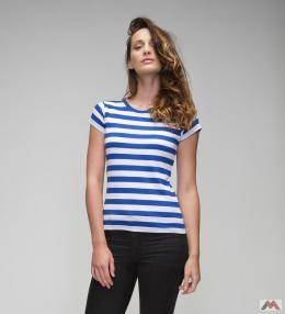 Mantis női póló Stripy 150 kék-fehér 5510815868