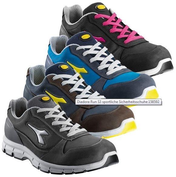 Diadora munkavédelmi cipő Utility Run S3 ESD fekete 5314ccf237