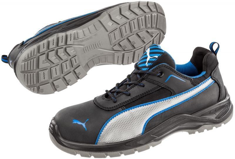 9ac6448c06b9 Puma munkavédelmi cipő Atomic S3 fekete-kék