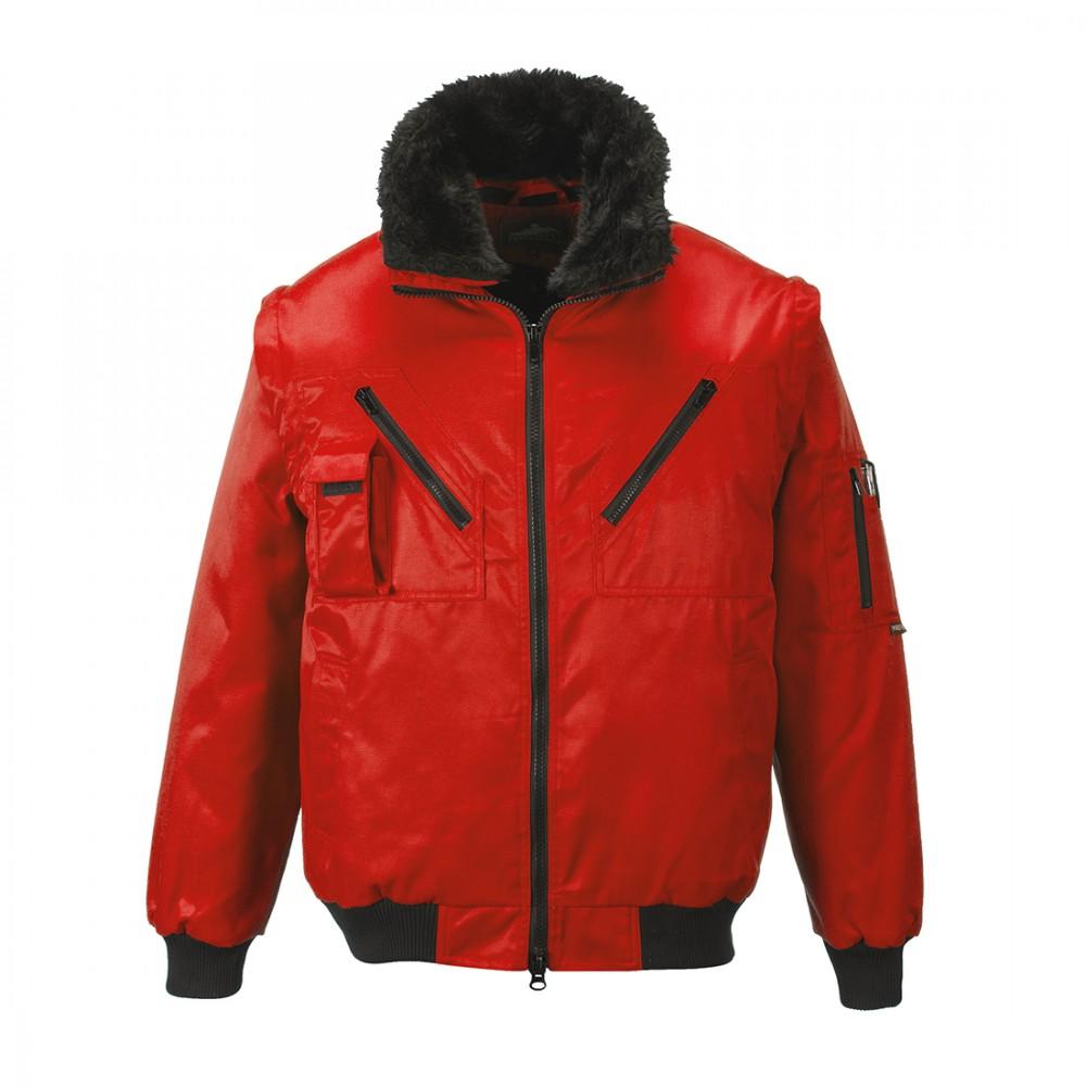 2f2035ac89 Portwest 3 az 1-ben pilóta dzseki PJ10 piros