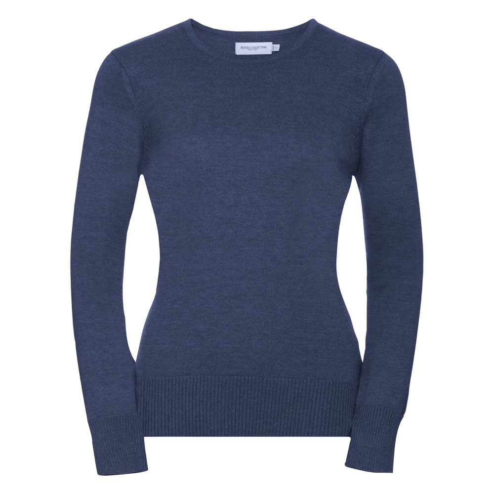 3bebc874d3 Russell Ladies' Crew Neck Knitted Pullover