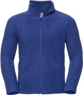 B&C polár pulóver Micro Fleece Full Zip 280 királykék