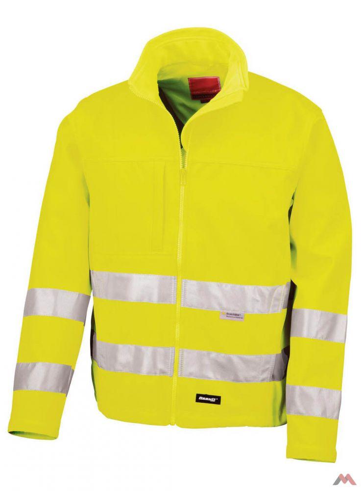 Result sárga softshell dzseki