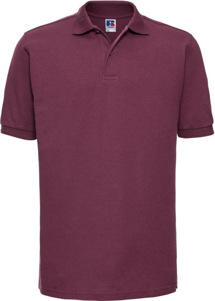 fe840471db03 Russell galléros póló Hard Wearing Polo Shirt 215 burgundi