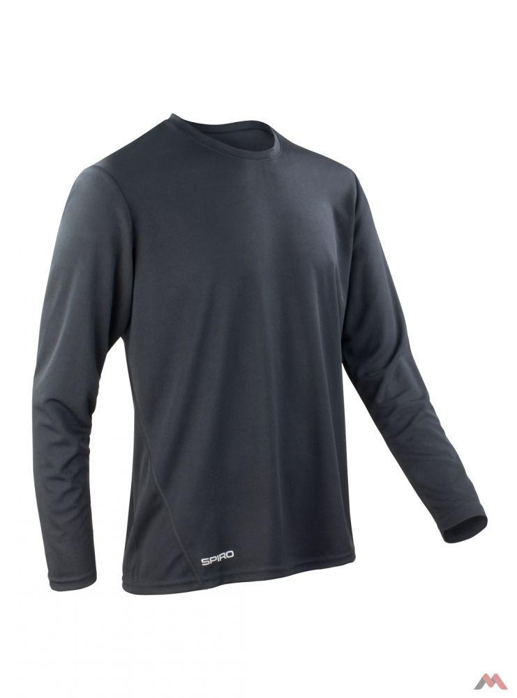 Spiro hosszú ujjú póló Performance 160 fekete fdeeeea5b2