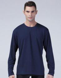 Spiro hosszú ujjú póló Performance 160 sötétkék
