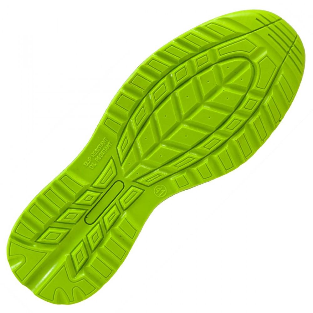 b5306ae1fe56 Urgent Lime munkavédelmi cipő