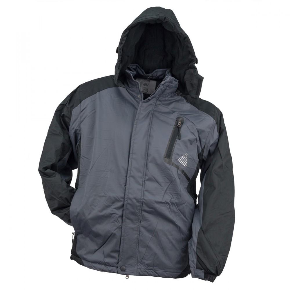 Urgent téli kabát Y-263 szürke-fekete 3c9ba0abae