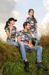 Terep, avarmintás póló, felső (női, férfi, gyerek)