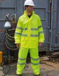 Láthatósági esőruházat (esőköpeny, kabát, nadrág)