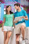 Rövid ujjú póló, felső (női, férfi)