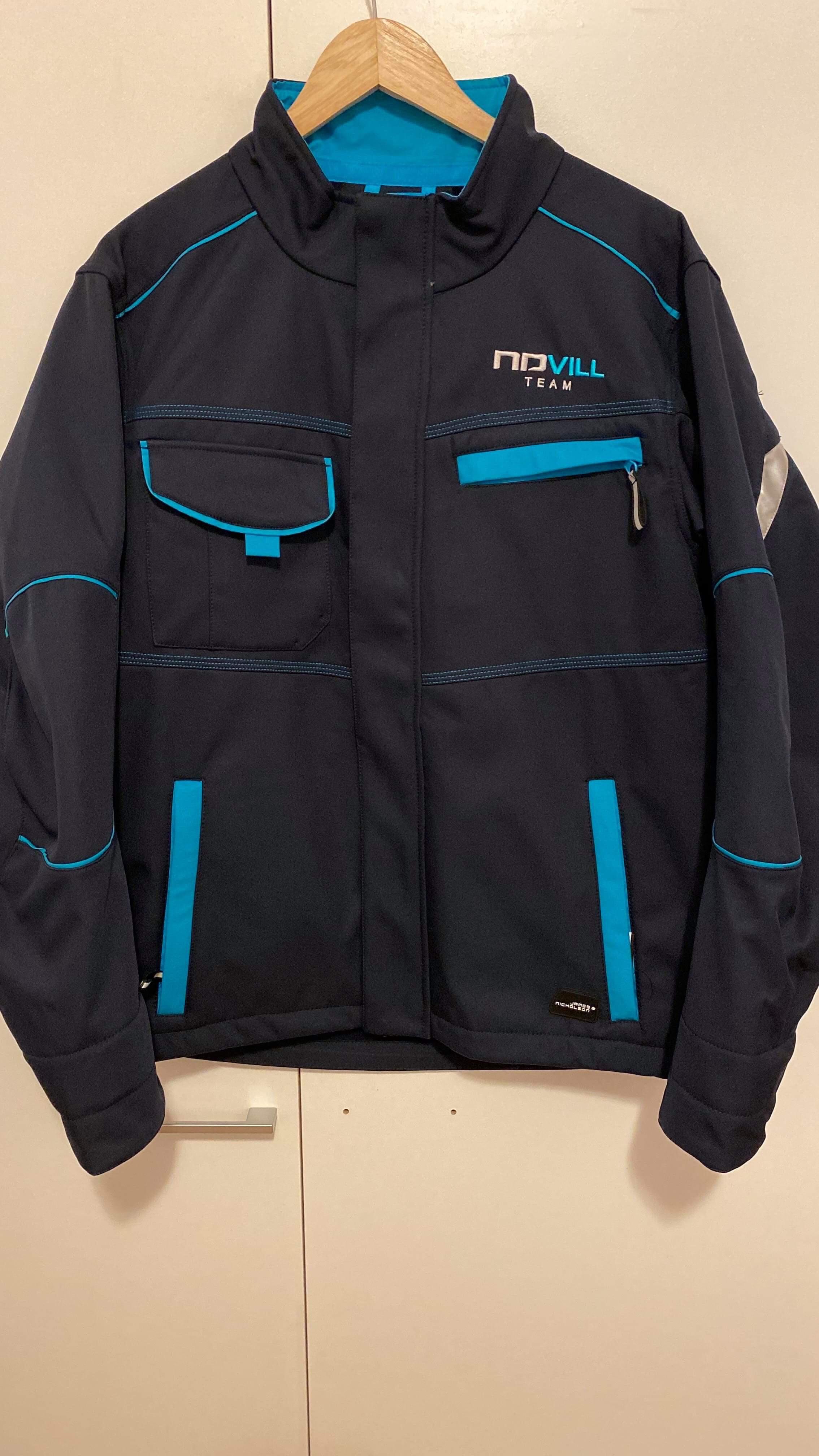 NDVILL Team softshell dzseki elől