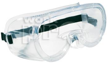 Lux Optical vegyszerálló munkavédelmi szemüveg Monolux víztiszta