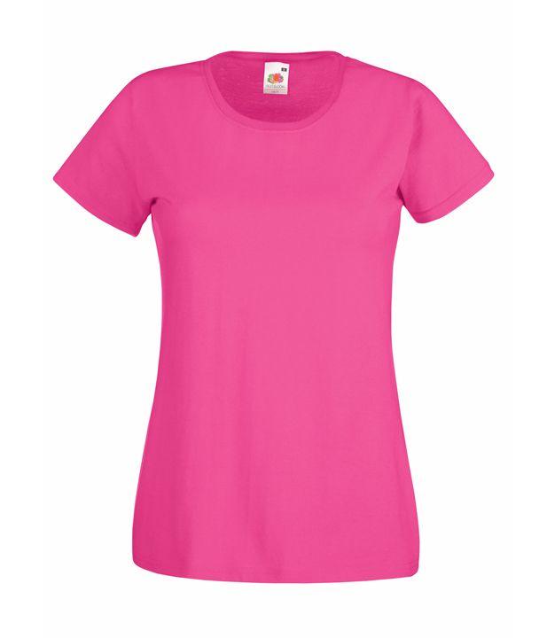 Fruit női póló Valueweight T 165 pink