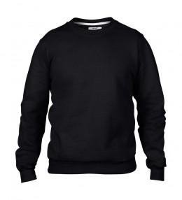 Anvil pulóver Fashion Crewneck 245 fekete XL