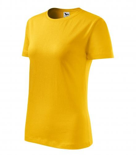 Adler/Malfini női póló Basic 160 sárga