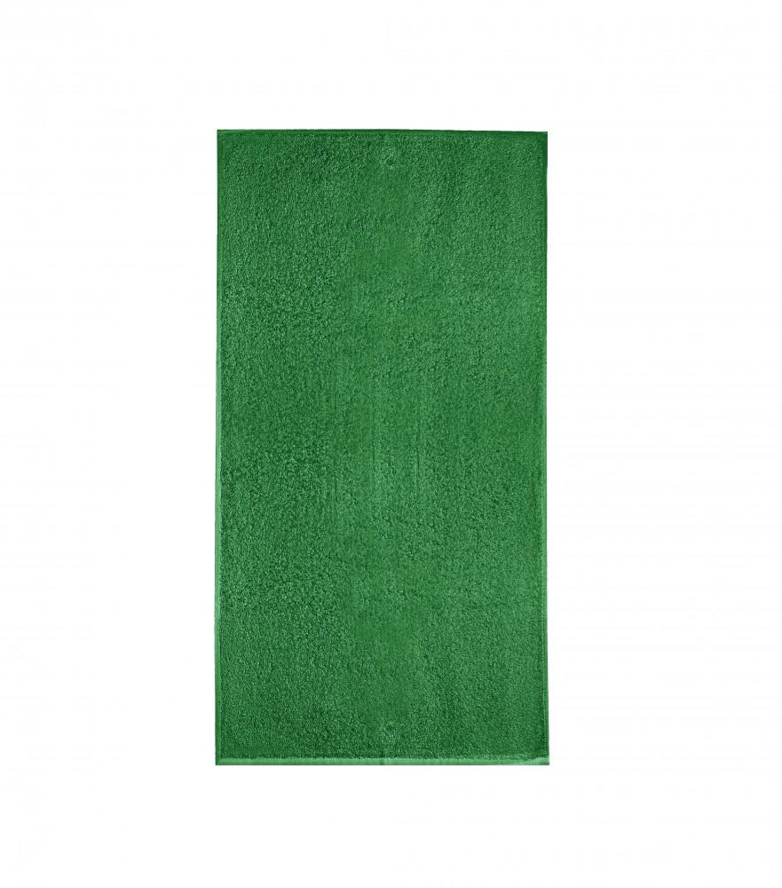 Adler/Malfini kéztörlő Terry Hand Towel 350 fűzöld