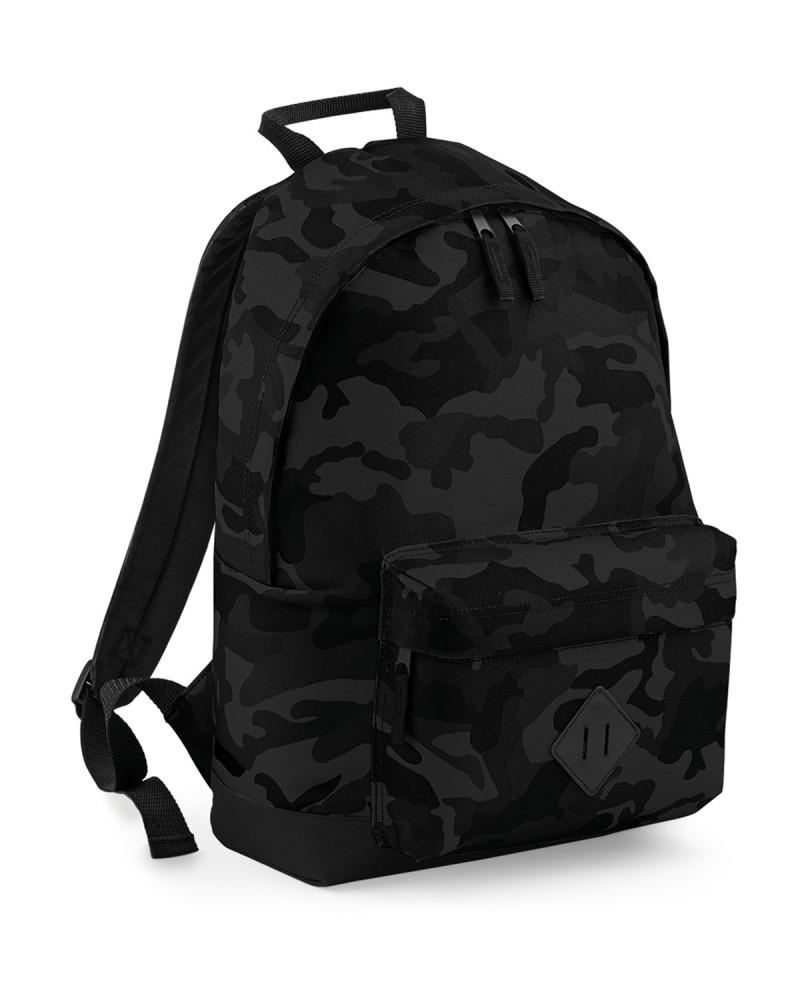 Bag Base hátizsák Camo Backpack terepszín fekete