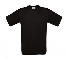 B&C póló Exact 150 fekete