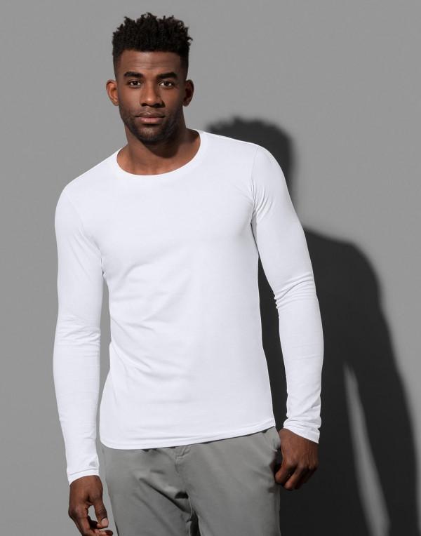 Stedman hosszú ujjú póló Clive 170 fehér