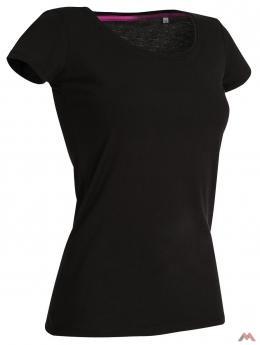 Stars női póló Crew Neck Claire 170 fekete