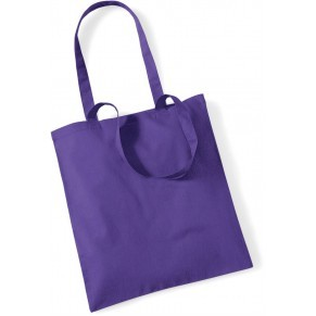 Westford Mill bevásárló táska Cotton 140 lila