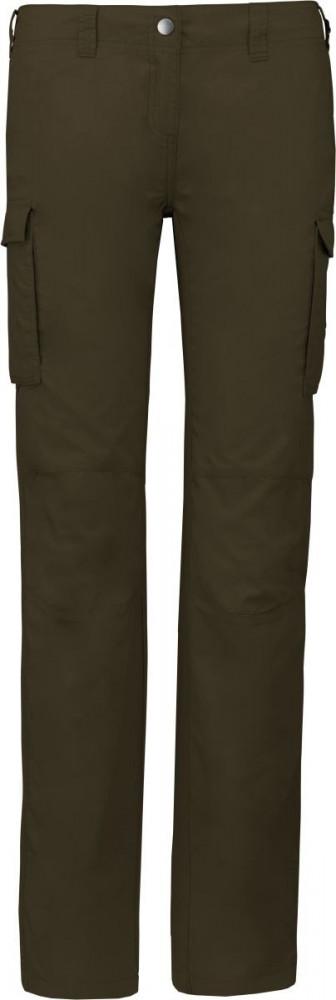 Kariban női nadrág Multipocket 140 világos khaki