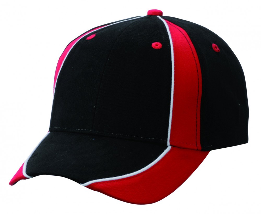 Myrtle Beach baseball sapka Club 6P fekete-piros-fehér