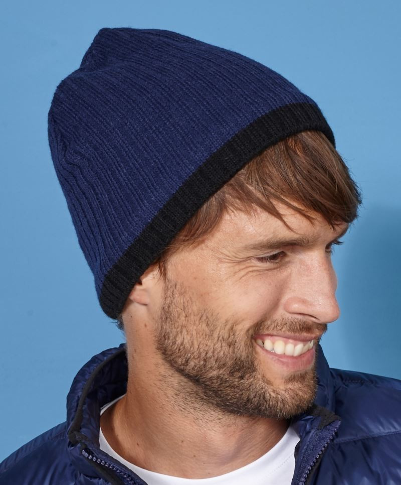 Myrtle Beach sapka Knitted Hat kék-fekete