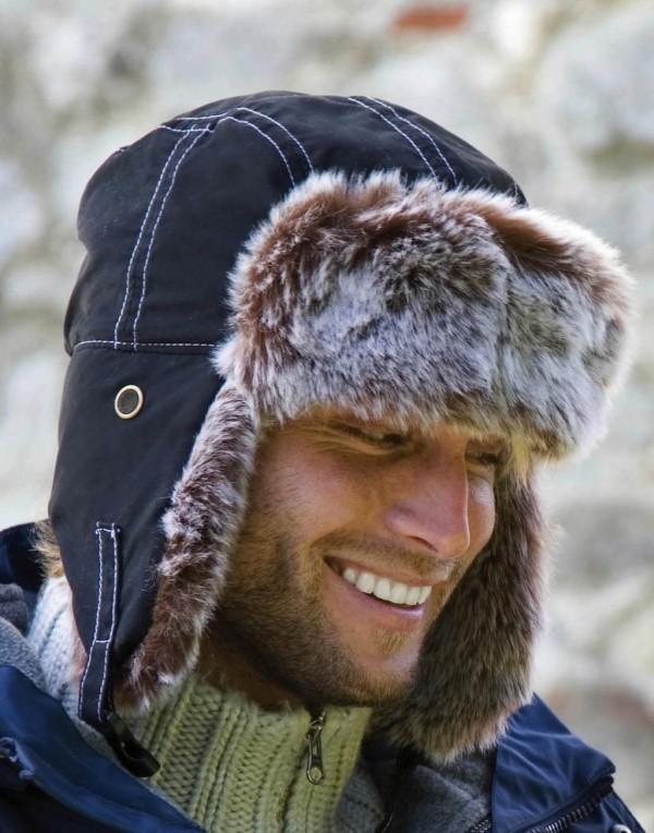 Result usánka Classic Sherpa fekete